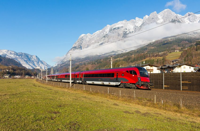 Железные дороги в Австрии