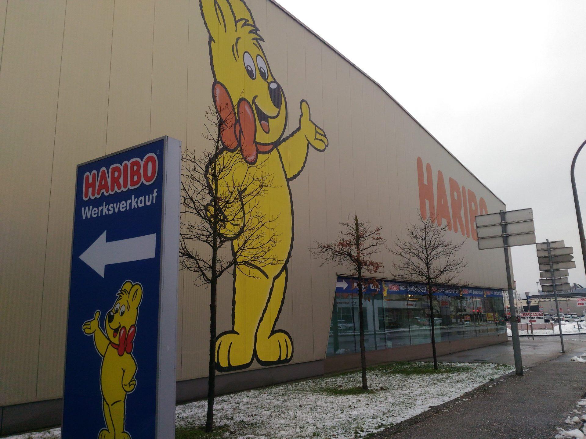 Фирменный магазин Haribo в австрийском Линце. Самый сладкий рассказ на этом канале*