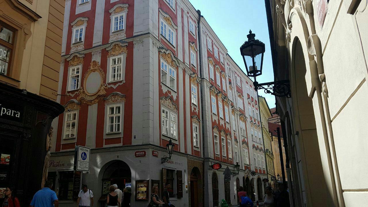 Апартаменты Пушкин, Прага, Чехия, Июль, 2018