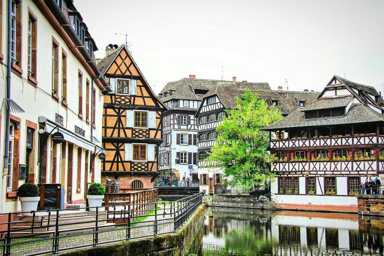 Квартал «Маленькая Франция», Страсбург, Франция. Апрель, 2013