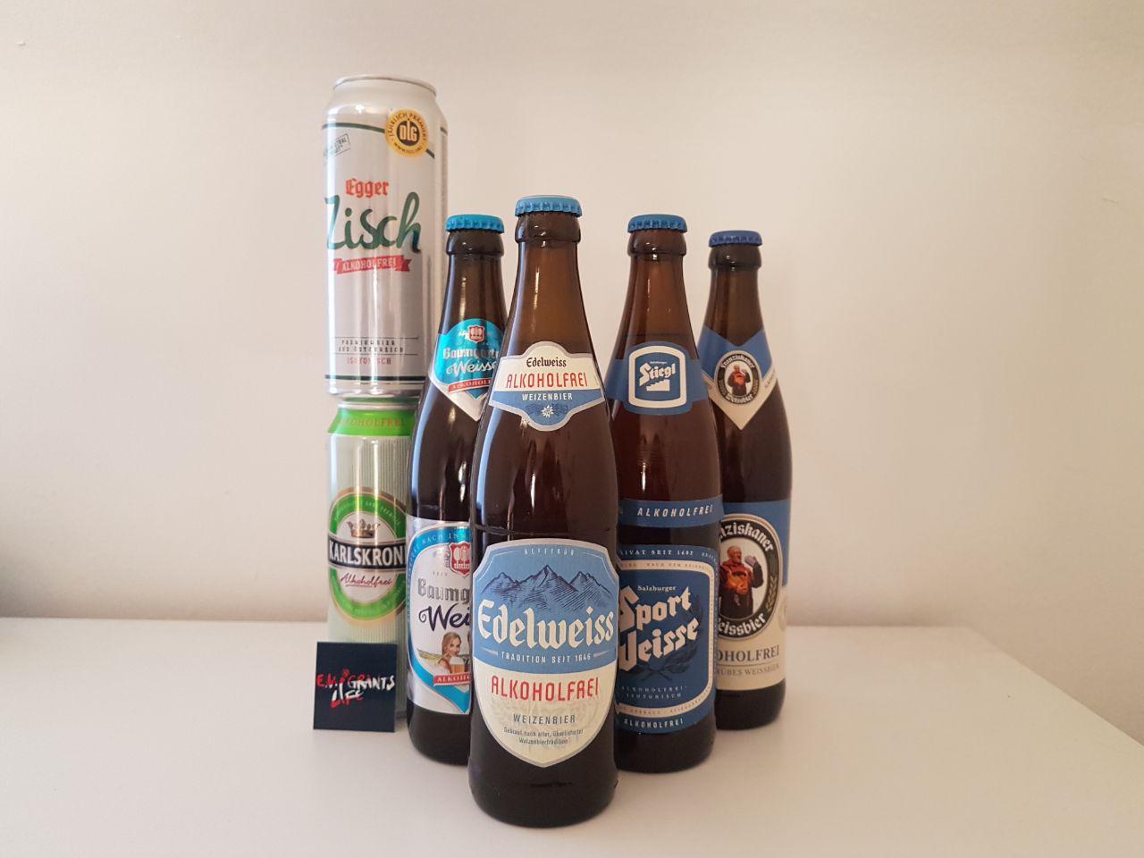 Безалкогольное пиво в Австрии.