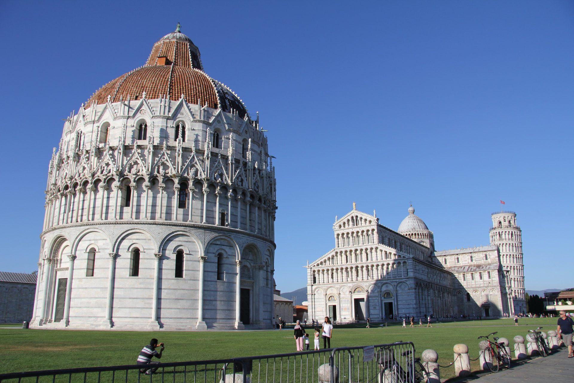 Пизанский собор, Пиза, Италия. Июль, 2012