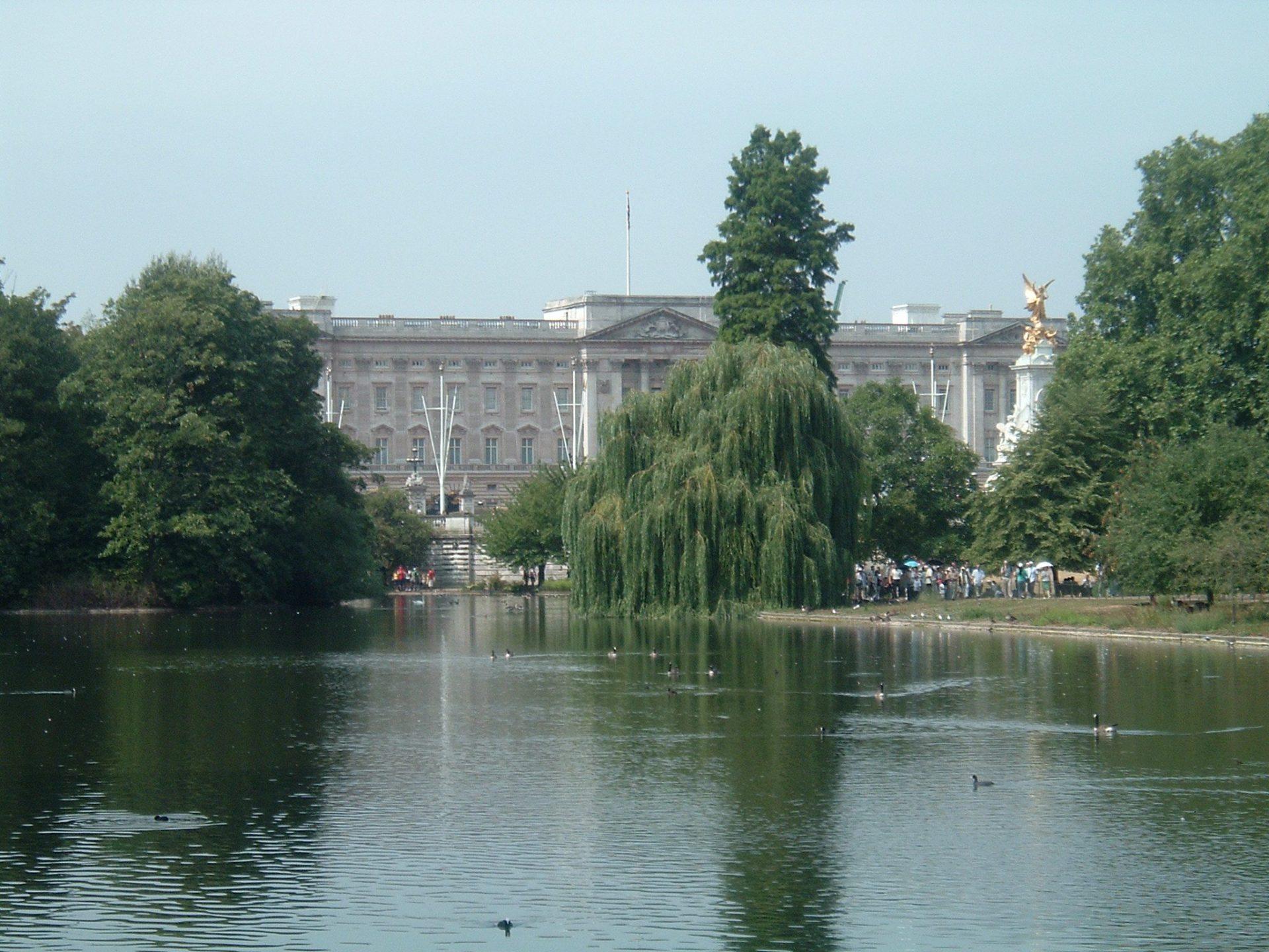 Букингемский дворец, Лондон, Великобритания. Июль, 2006