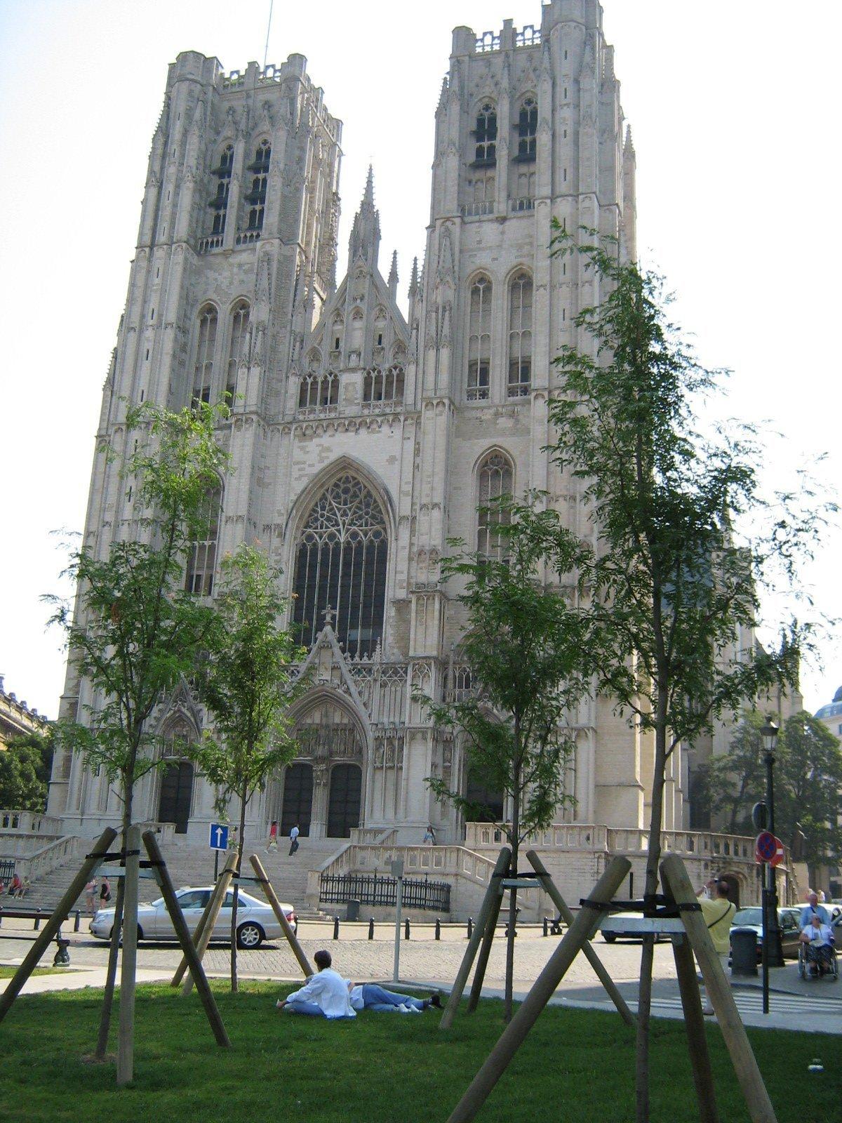 Собор Сен-Мишель-э-Гюдюль, Брюссель, Бельгия. Июль, 2006
