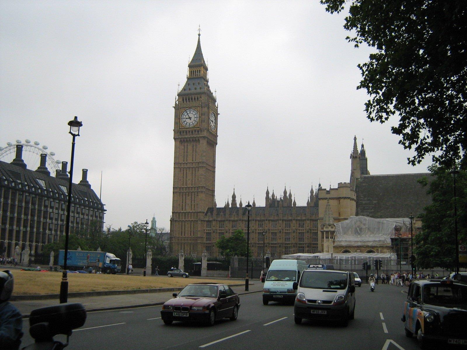 Биг-Бен, Лондон, Великобритания. Июль, 2006