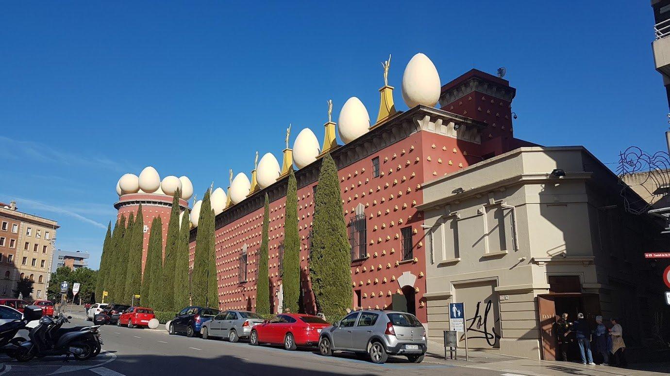 Театр-музей Дали, Фигерас, Каталония. Январь, 2018