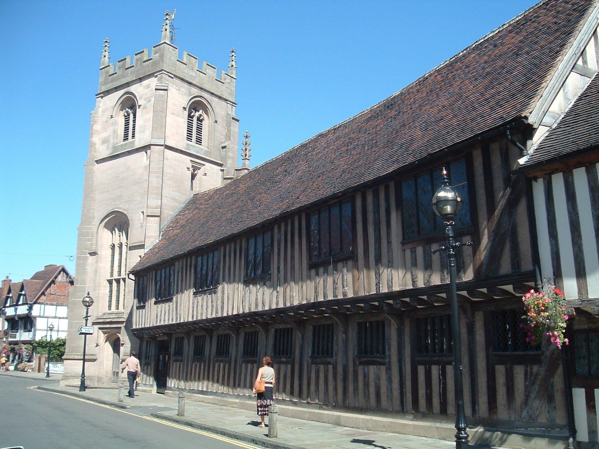 Школа короля Эдуарда VI, Стратфорд-на-Эйвоне, Великобритания. Июль, 2005