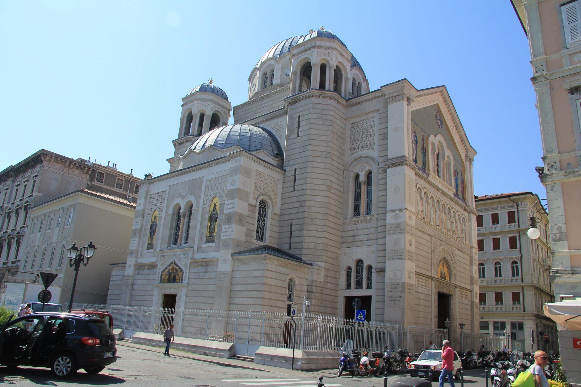 Церковь Святого Спиридона, Триест, Италия. Июнь, 2019