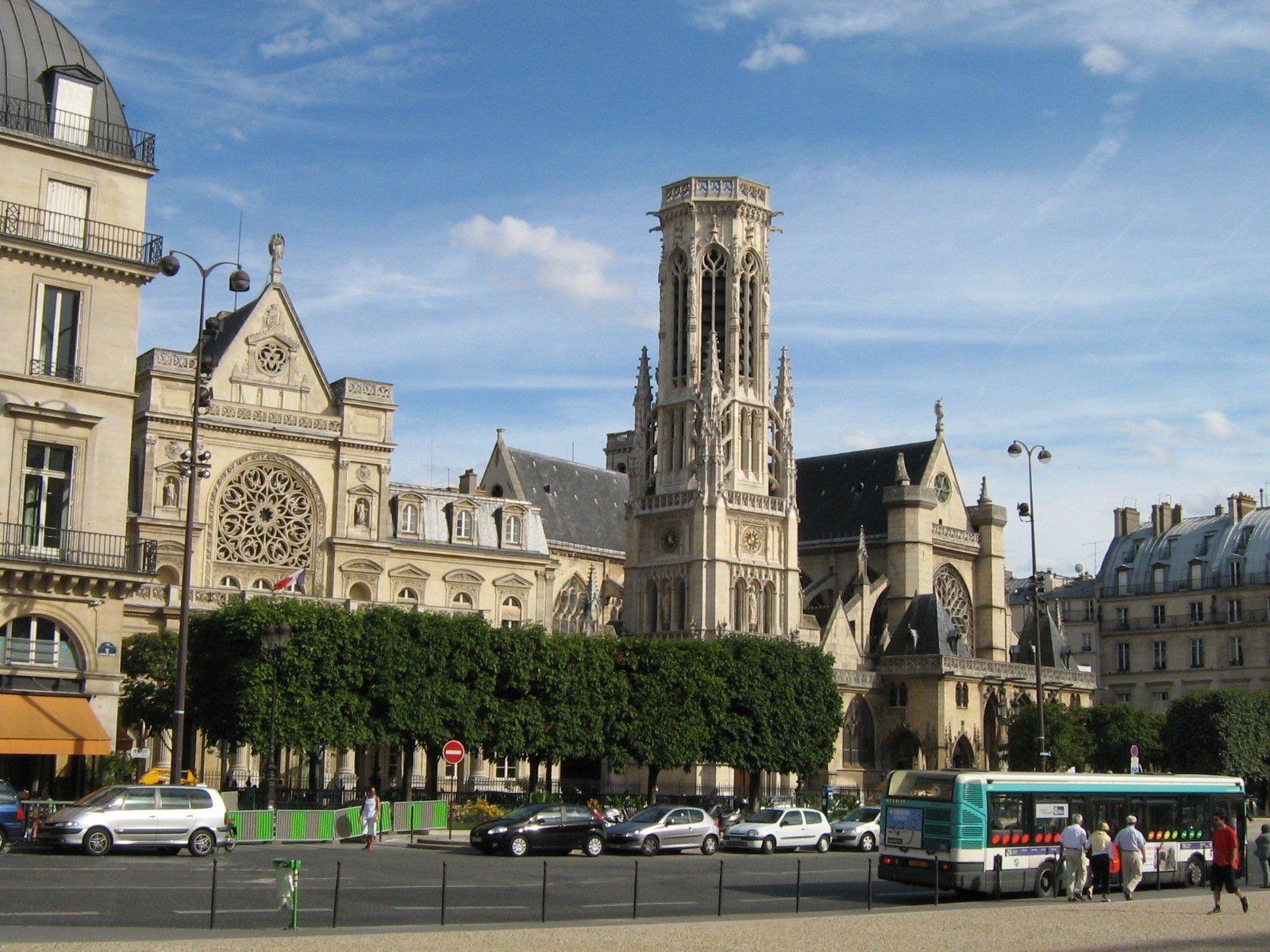 Сен-Жермен-л'Осеруа, Париж, Франция. Июль, 2006