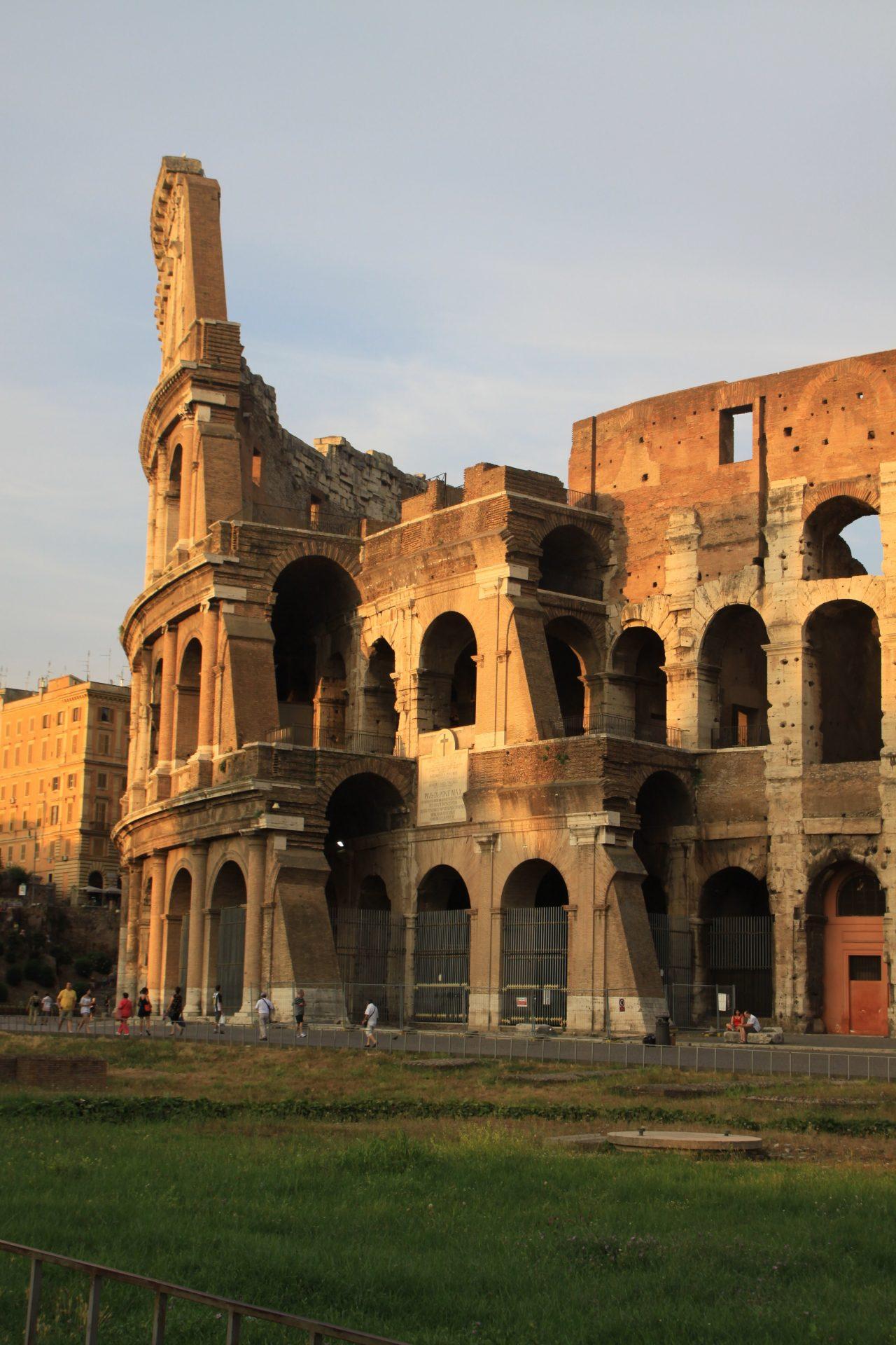 Колизей, Рим, Италия. Июль, 2012
