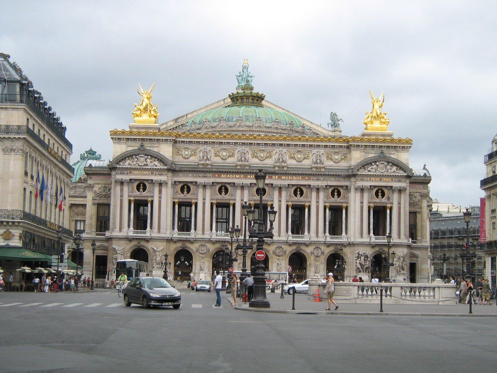 Гранд-опера, Париж, Франция. Июль, 2006