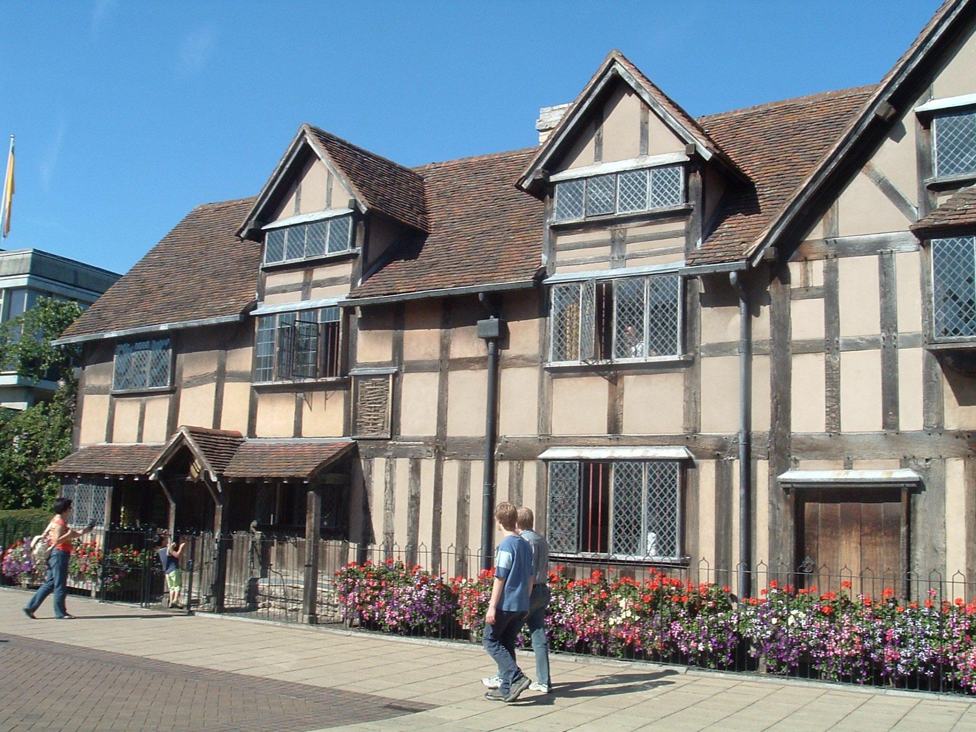 Дом-музей Шекспира, Стратфорд-на-Эйвоне, Великобритания. Июль, 2006