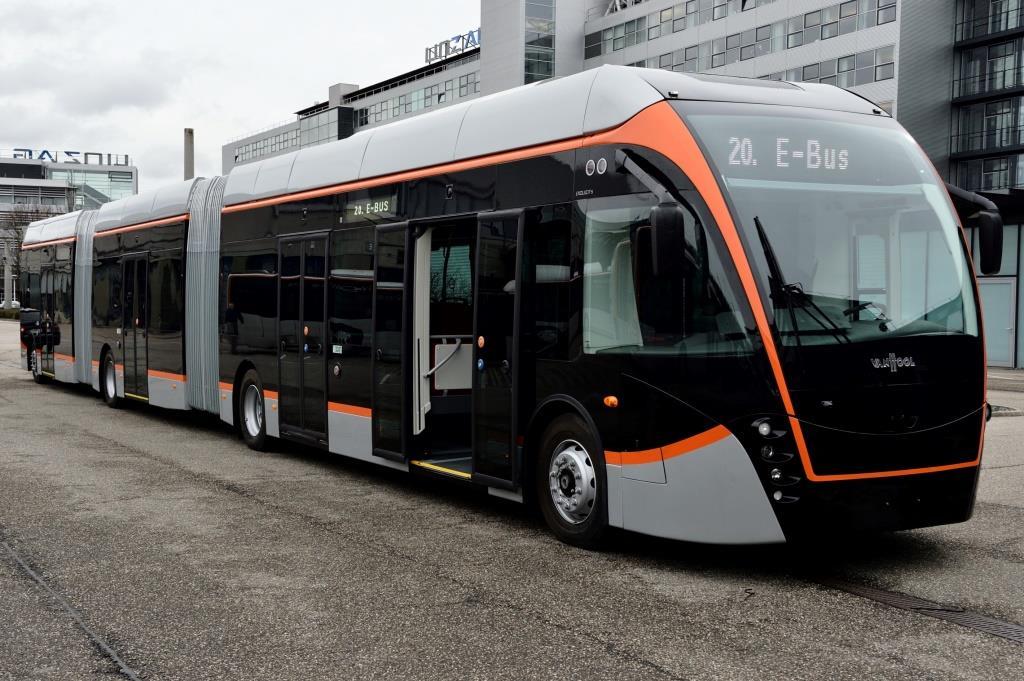 Новые гибридные автобусы в австрийском Линце