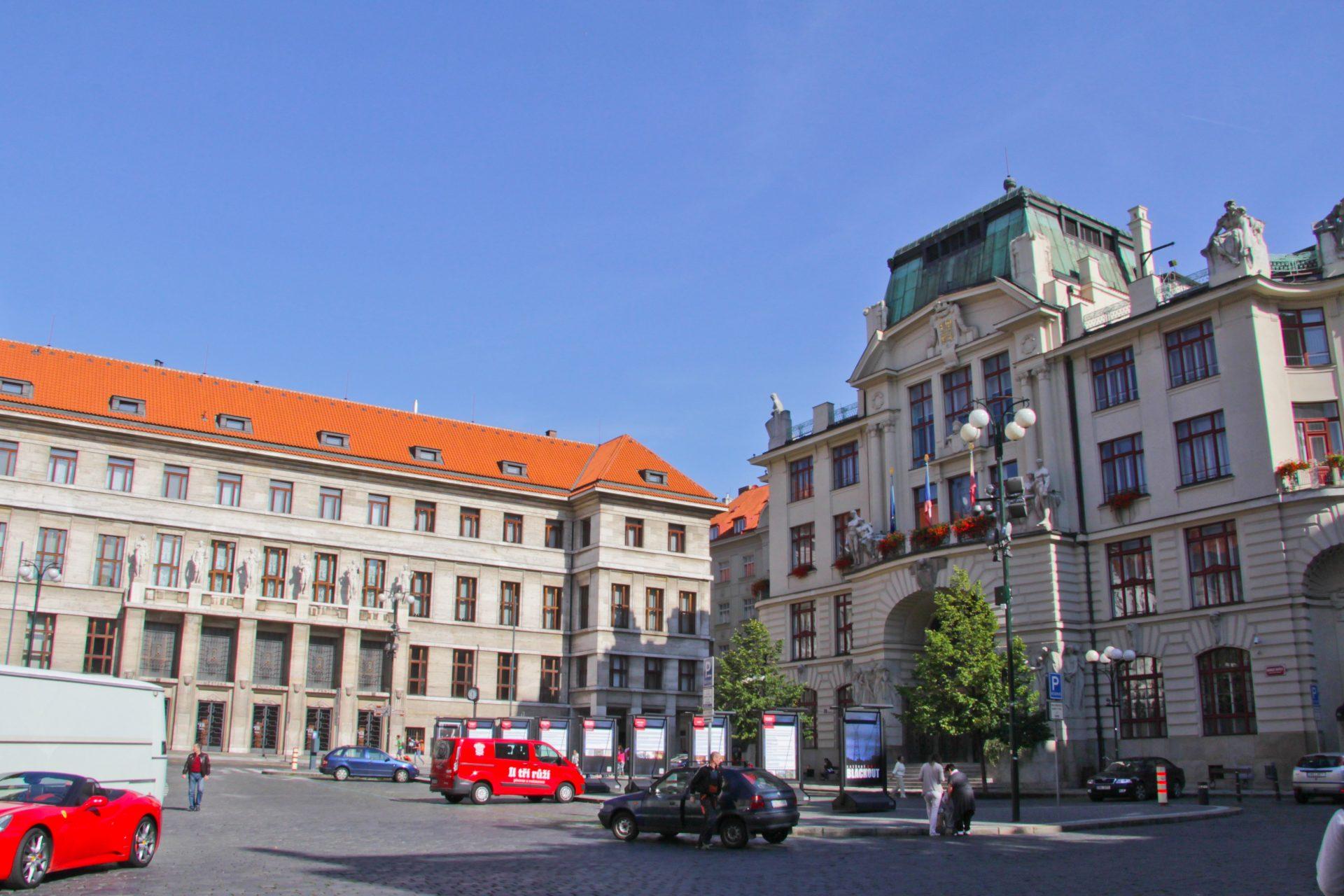 Новая ратуша, Прага, Чехия. Сентябрь, 2014