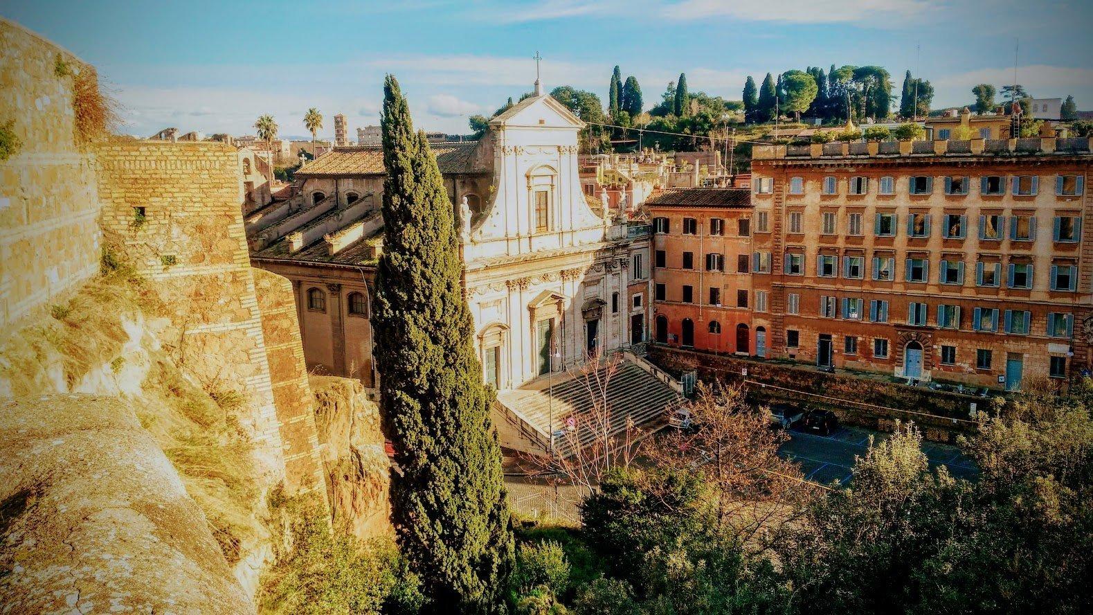 Санта-Мария делла Консолационе, Рим, Италия. Январь 2019