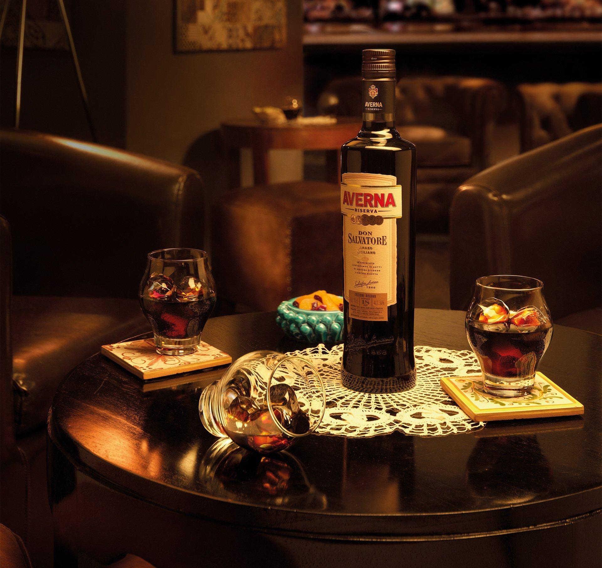 Amaro Averna — мой любимый итальянский напиток в Австрии