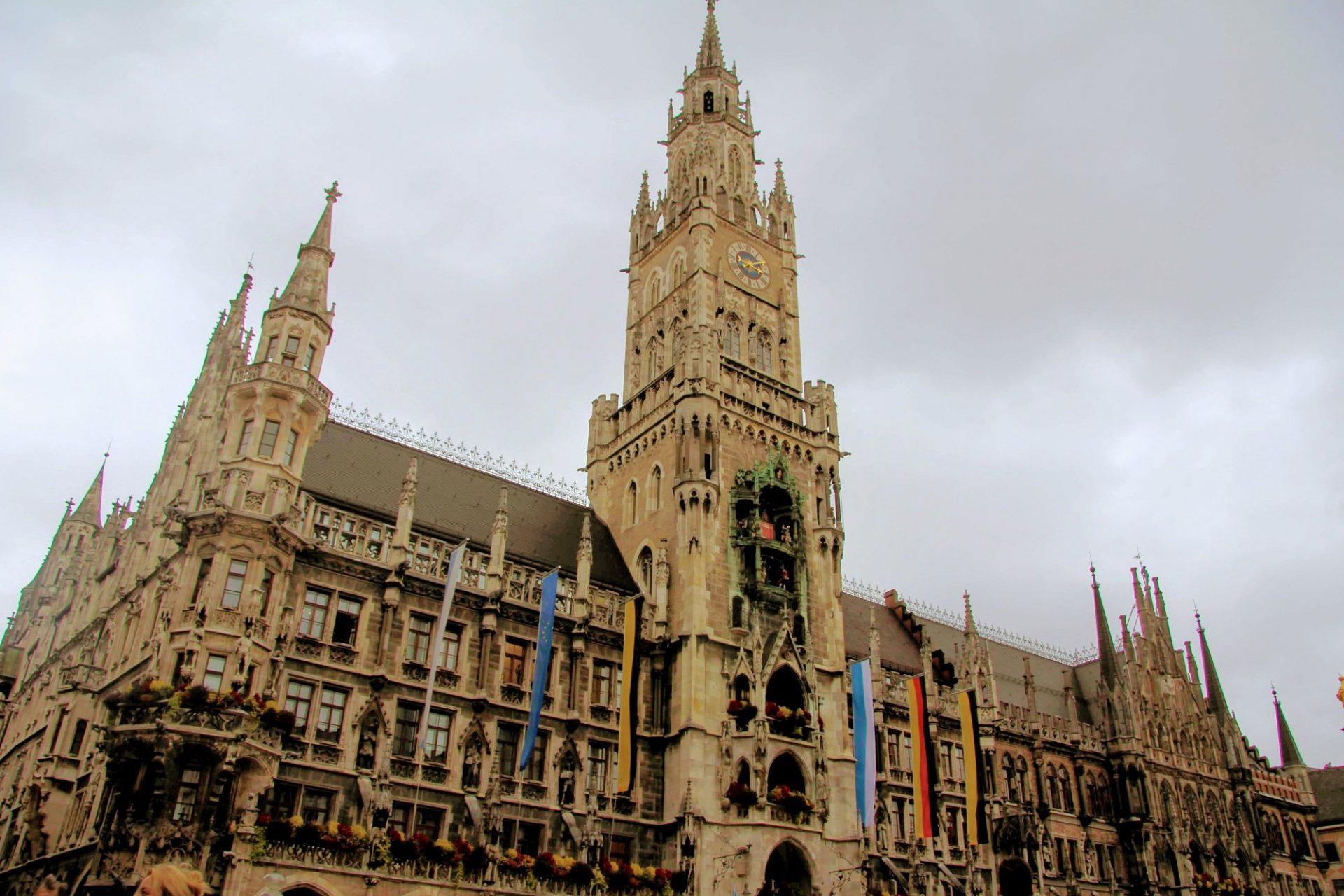 Новая ратуша, Мюнхен, Германия. Сентябрь, 2019