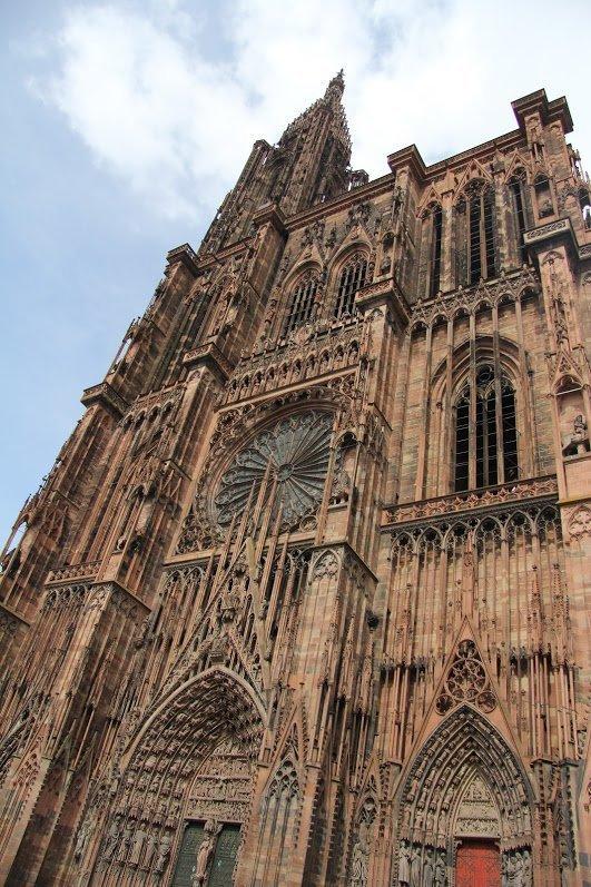 Страсбургский собор, Страсбург, Франция. Апрель, 2013