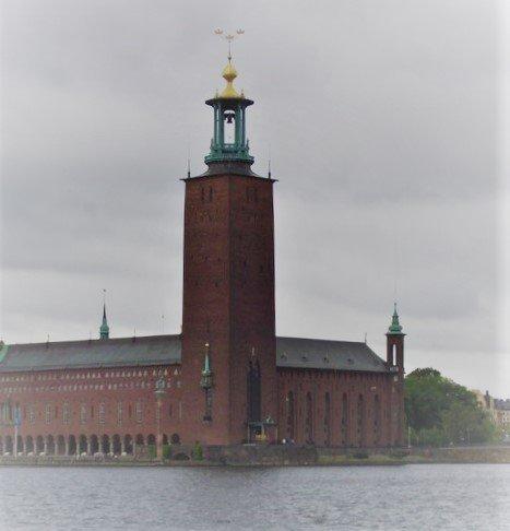 Стокгольмская ратуша, Стокгольм, Швеция. Июнь, 2005