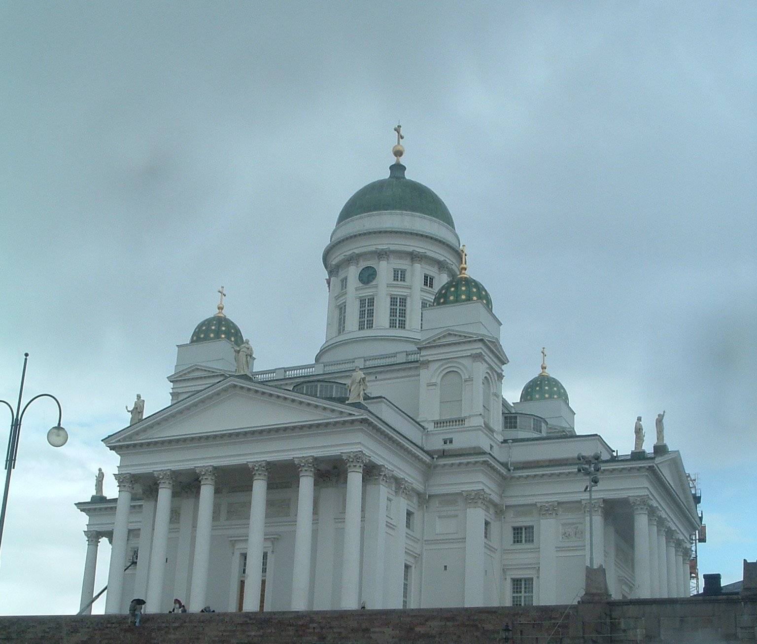 Собор Святого Николая, Хельсинки, Финляндия. Июль, 2005