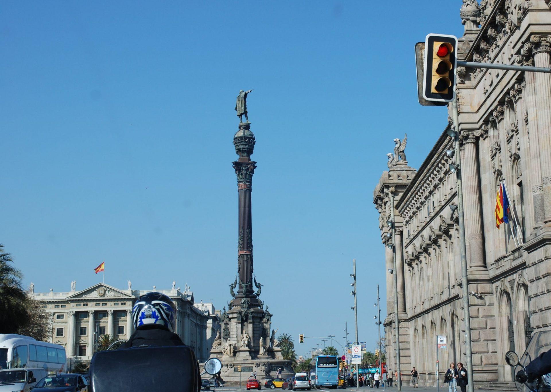 Памятник Колумбу, Барселона, Испания. Апрель, 2011
