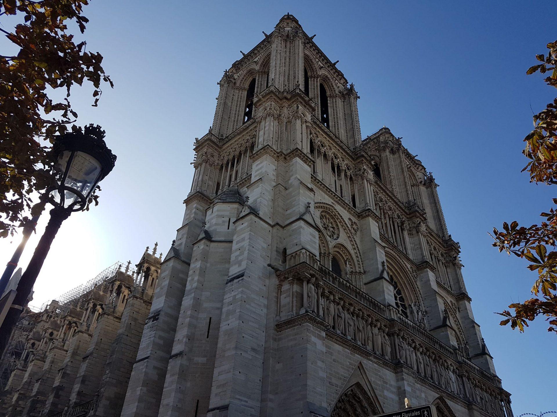 Собор Парижской Богоматери, Париж, Франция. Сентябрь, 2019