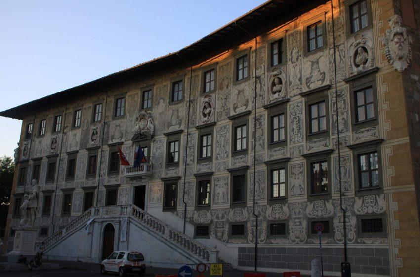 Пизанский университет, Пиза, Италия. Июль, 2012
