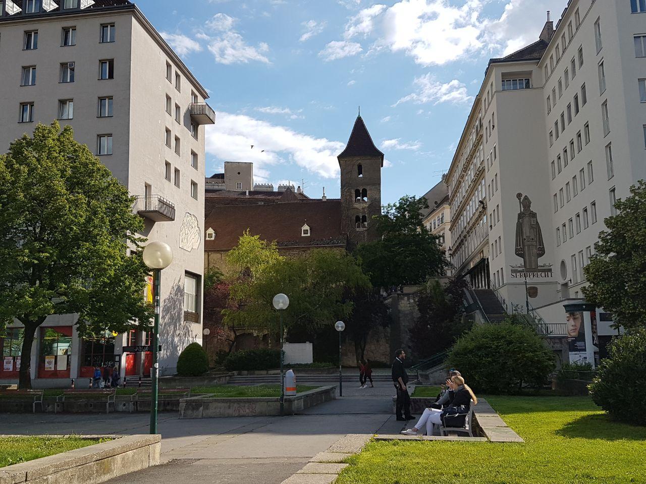 Рупрехтскирхе, Вена, Австрия. Май, 2020