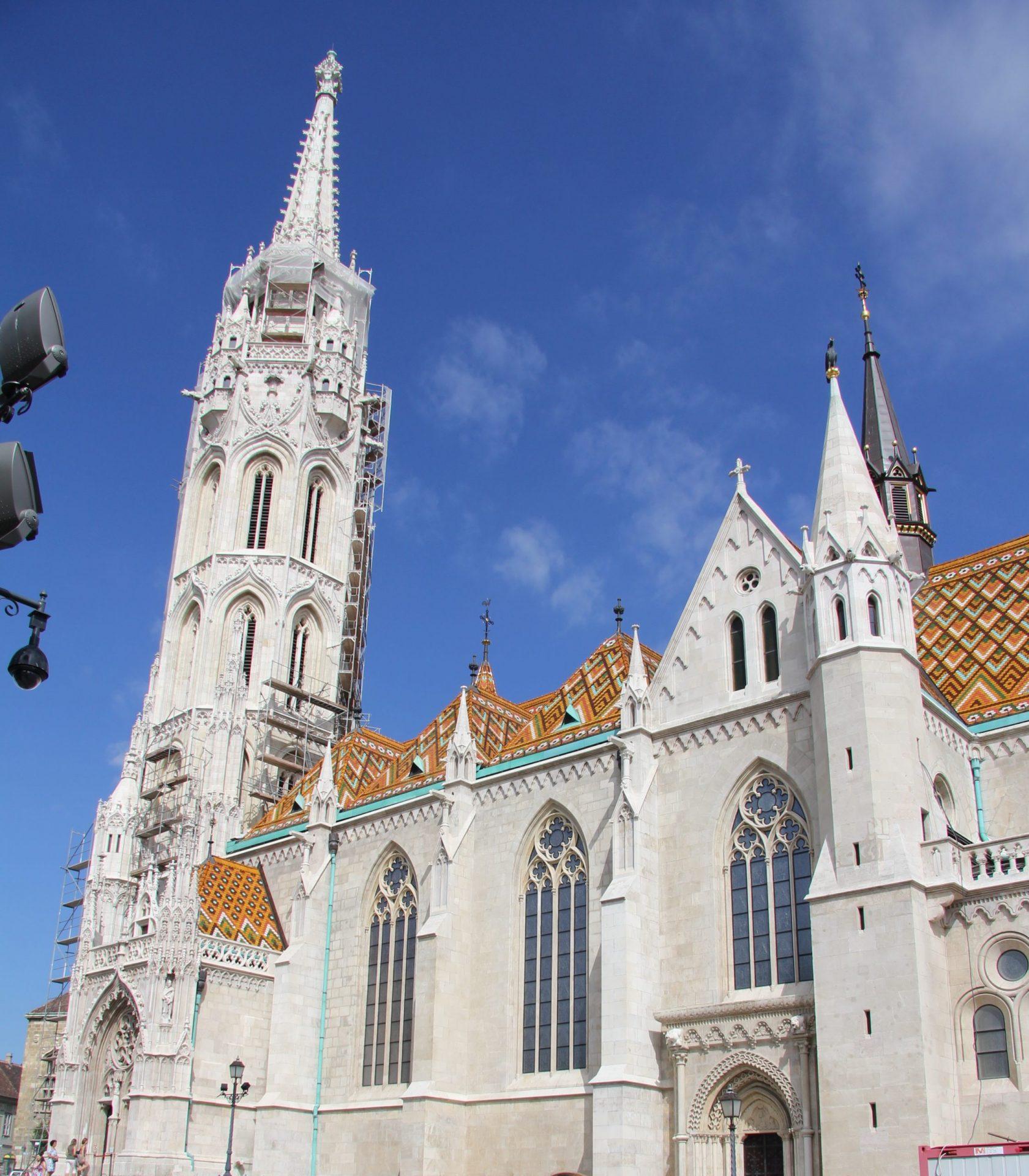 Церковь Матьяша, Будапешт, Венгрия. Июль, 2013