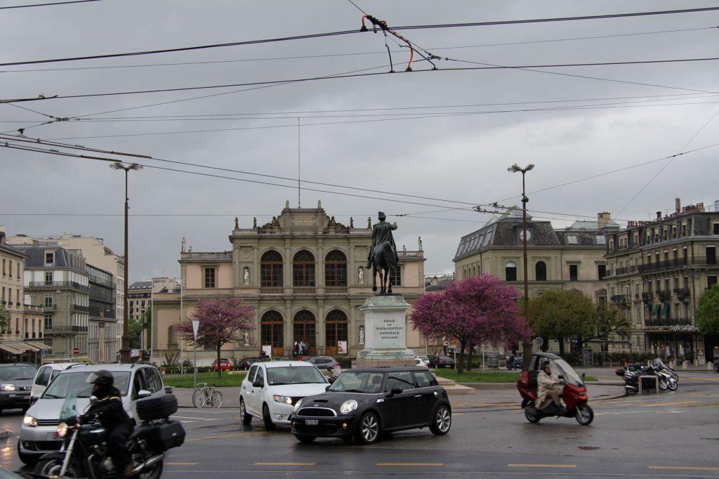 Женевская консерватория, Женева, Швейцария. Апрель, 2013