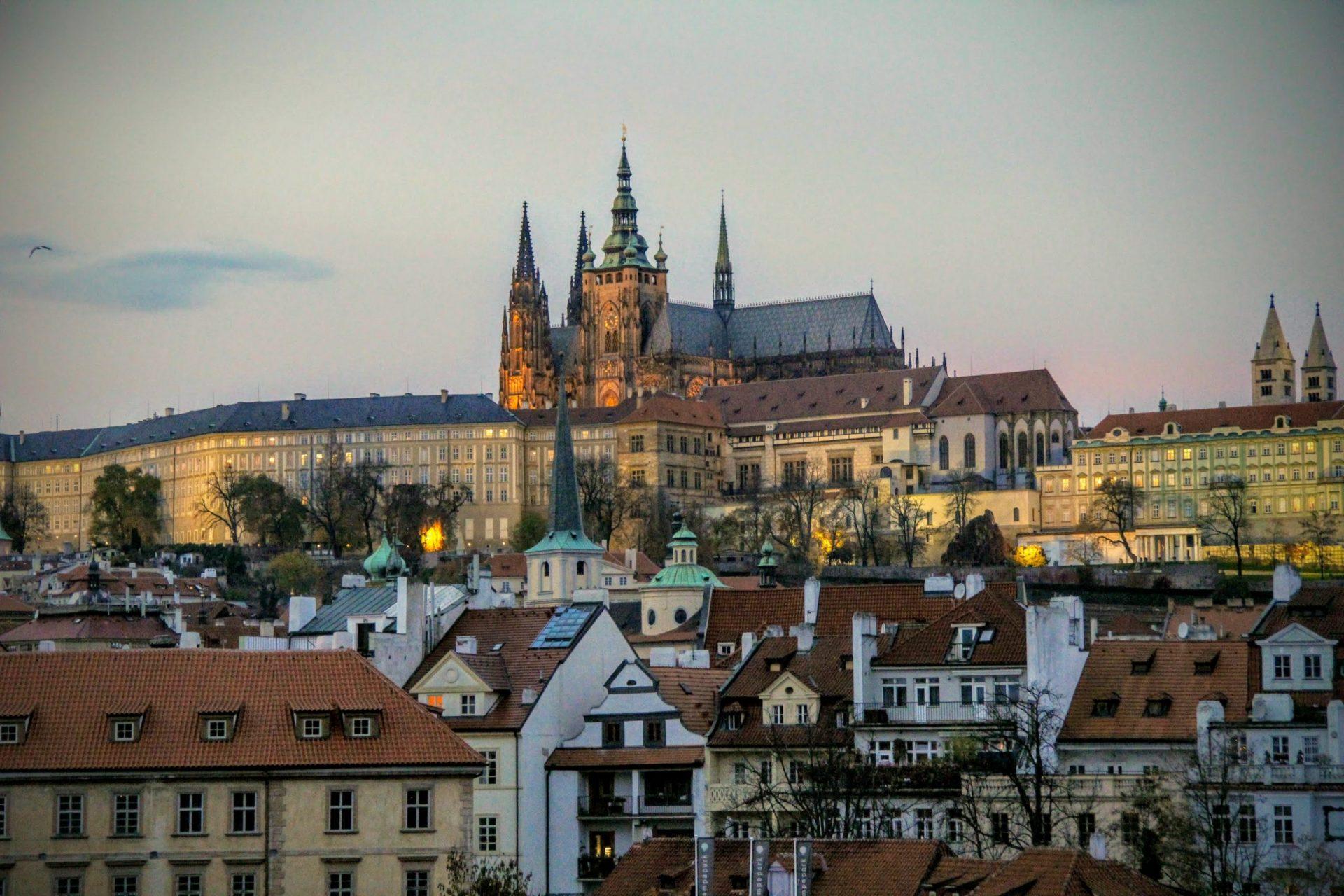 Дворец Рожмберков, Прага, Чехия. Сентябрь, 2015