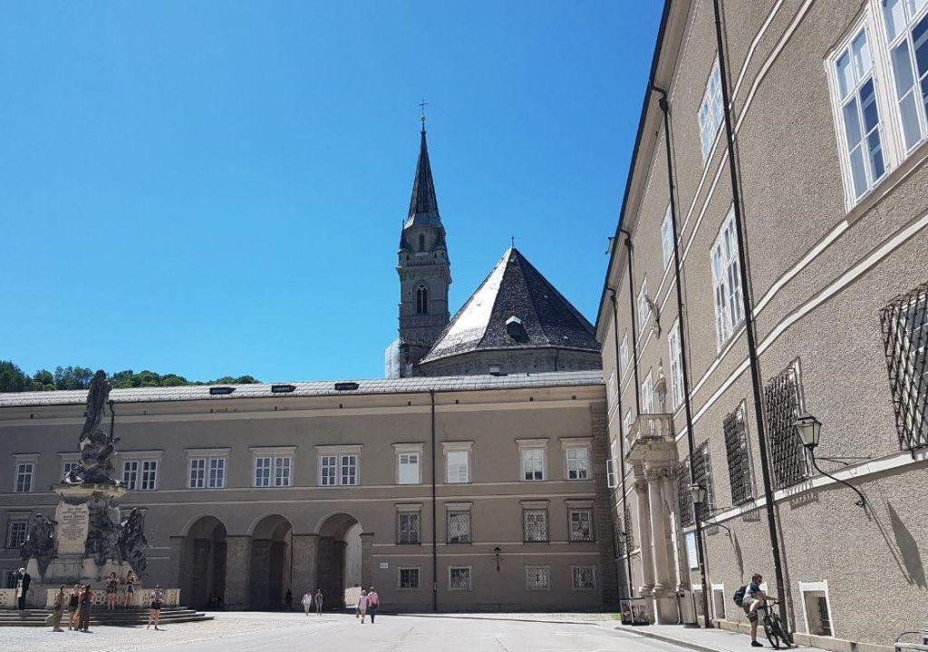 Францисканская церковь, Зальцбург, Австрия. Июнь, 2020