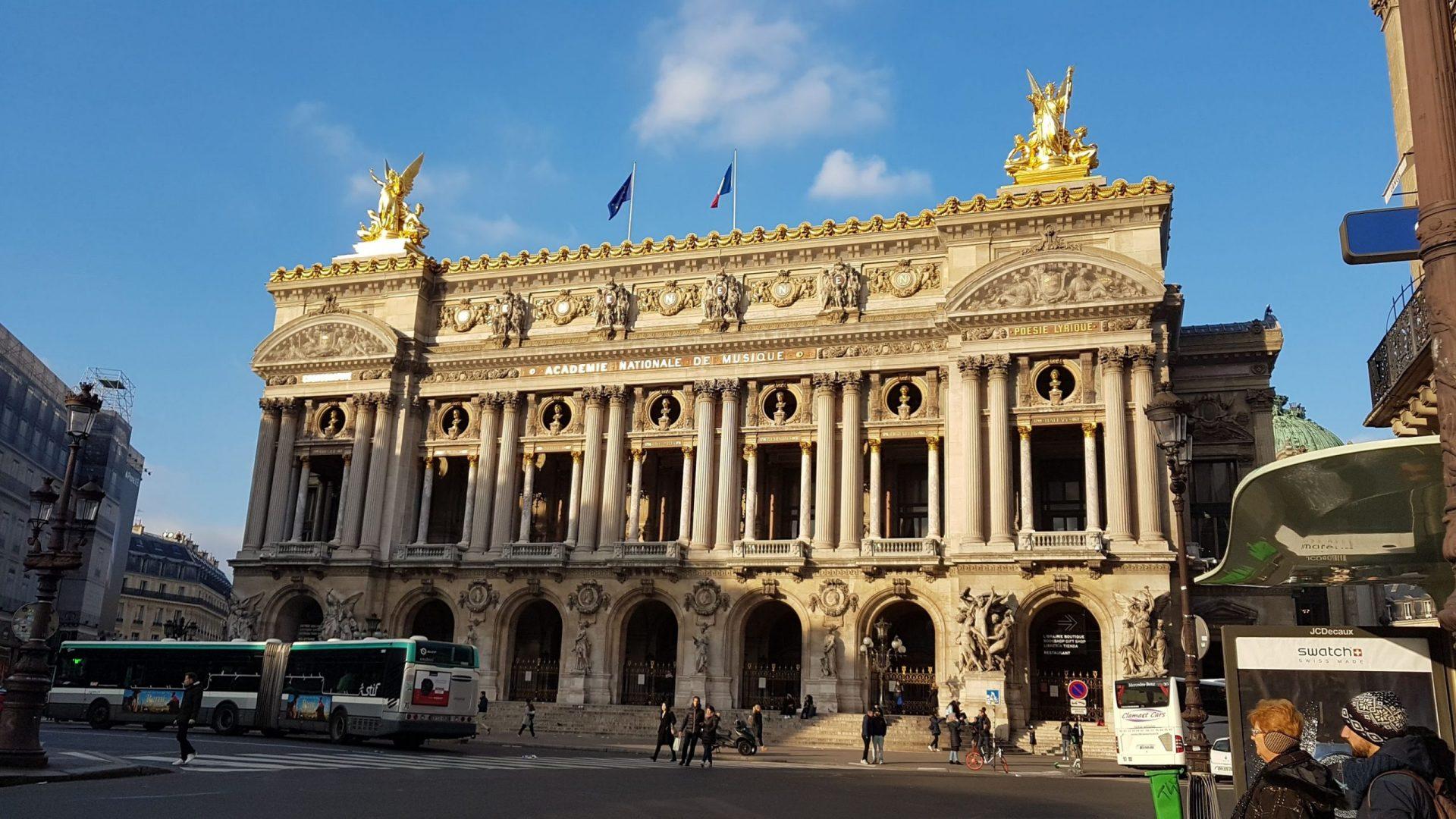 Опера Гарнье, Париж, Франция. Декабрь, 2018