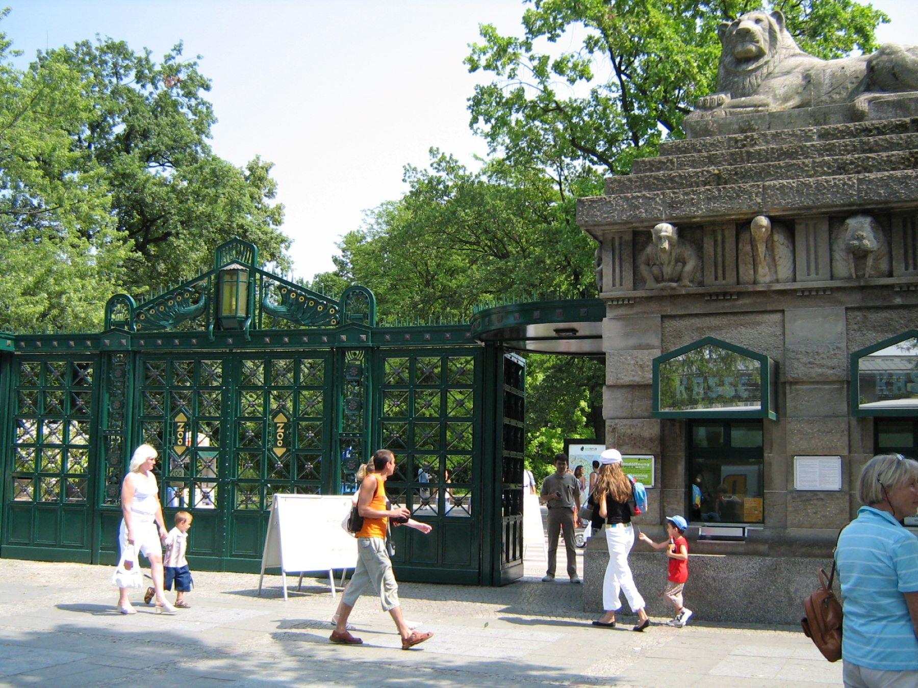 Берлинский зоопарк, Берлин, Германия. Июль, 2006