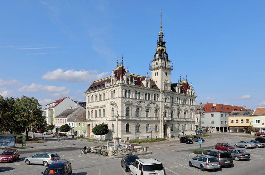 История австрийского городка Лаа-ан-дер-Тайя