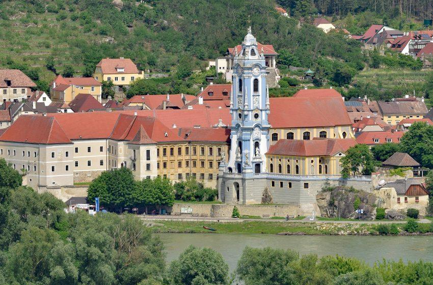 История австрийского городка Дюрнштайн