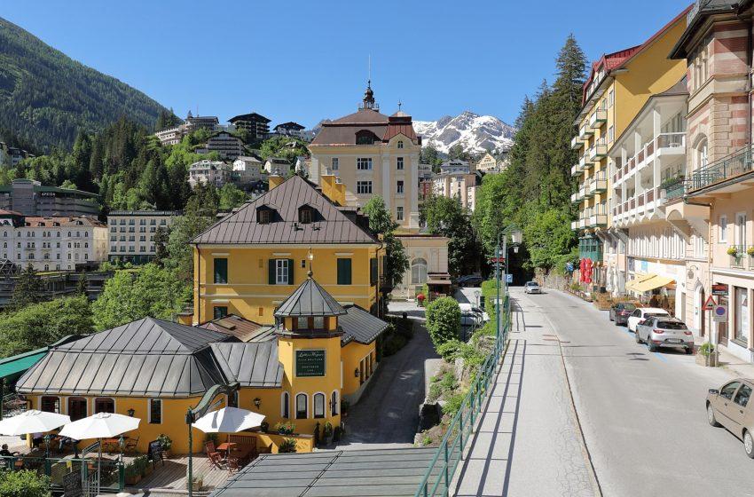 История австрийского городка Бад-Гаштайн