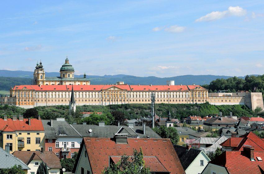 История австрийского городка Мельк