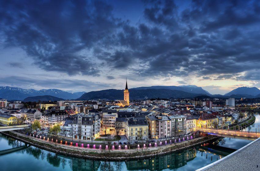 История австрийского городка Филлах