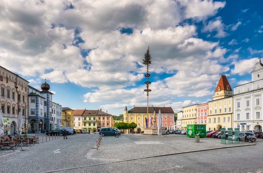 История австрийского городка Фрайштадт