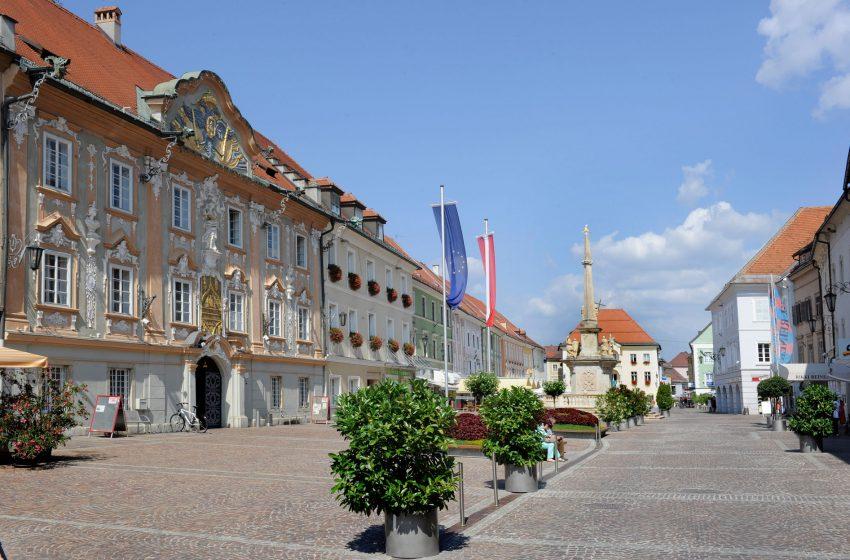 История австрийского городка Санкт-Файт-ан-дер-Глан