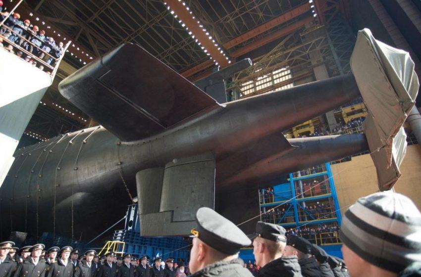 СМИ Австрии: длина новейшей подводной лодки России составляет 178 метров