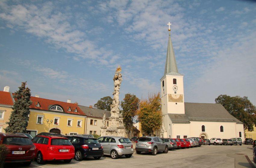 История австрийского городка Трайскирхен