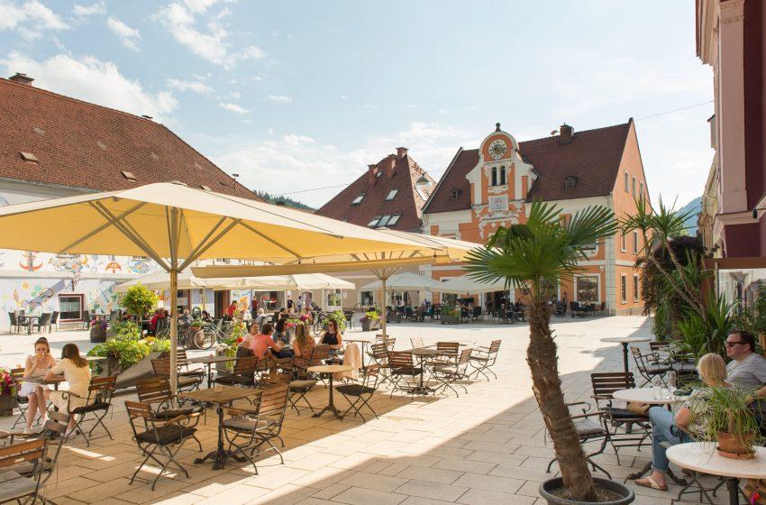 История австрийского городка Капфенберг