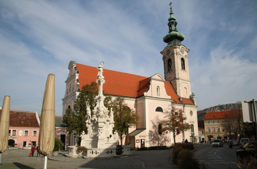 История австрийского городка Хайнбург-ан-дер-Донау
