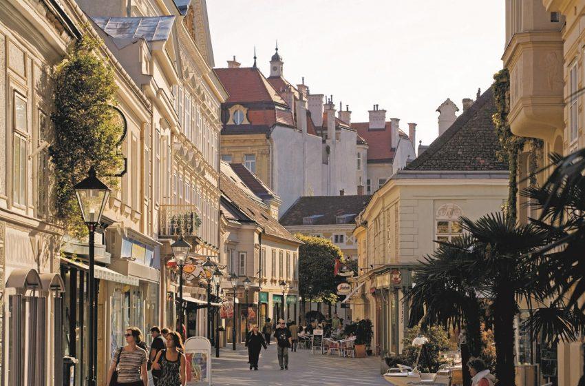 История австрийского города Баден