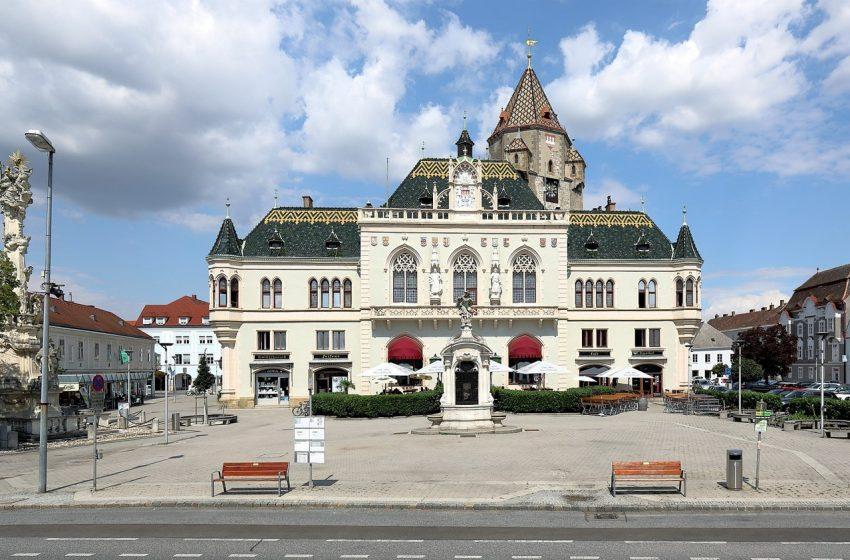 История австрийского городка Корнойбург