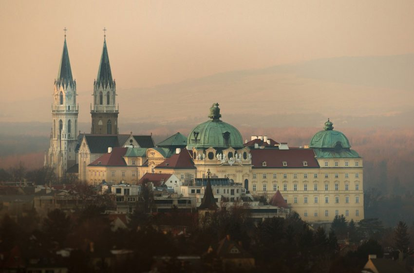 История австрийского городка Клостернойбург