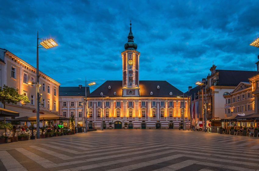 История австрийского городка Санкт-Пёльтен